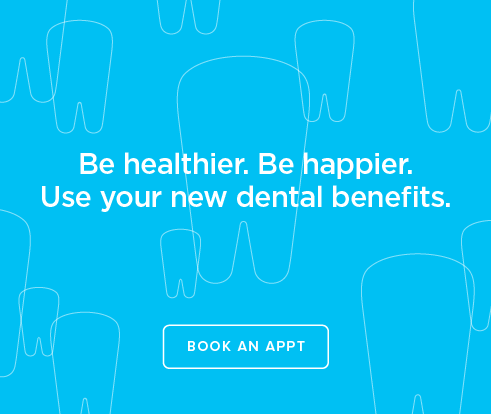 Be Heathier, Be Happier. Use your new dental benefits. - Overland Park Modern Dentistry